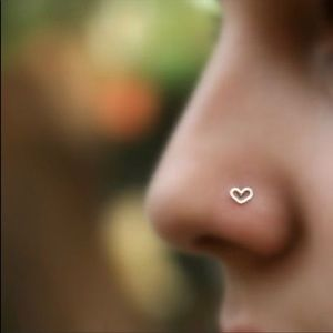 Moodtherapy Jewelry - ‼️🎃SALE WAS 22$🆕🍁2-Heart Shaped Nose Screw